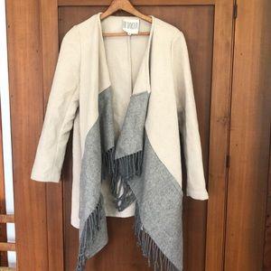 BB Dakota tassel shawl jacket